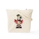Alice in Wonderland Tote Bag - LOOK BACK!