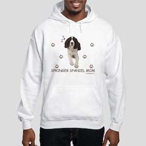 Springer Spaniel Mom Hooded Sweatshirt
