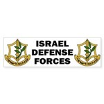 IDF - Israel Defense Forces Bumper Sticker