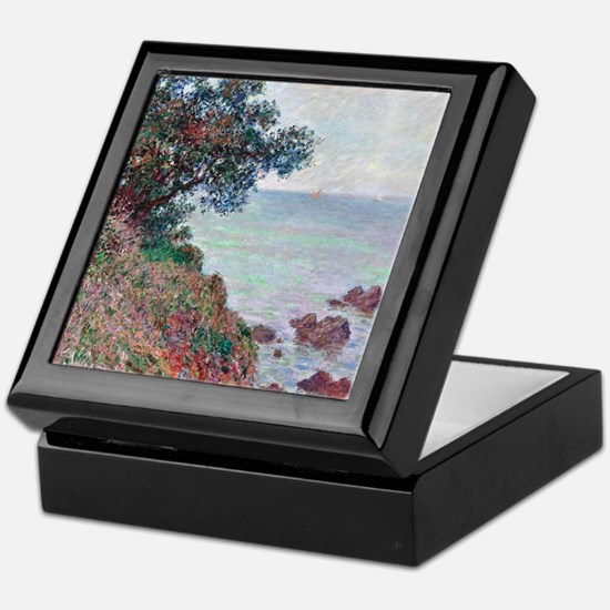 Claude Monet Mediterranean Coast Keepsake Box