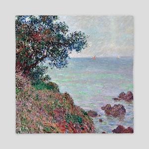 Claude Monet Mediterranean Coast Queen Duvet