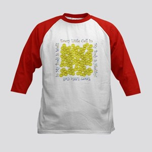 Little Hlthy Cells(Plain Back) Kids Baseball Shirt