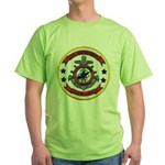 USS MISSISSIPPI Green T-Shirt