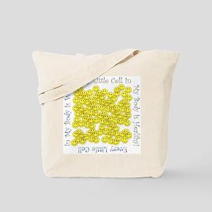 Little Healthy Cells (Plain Back) Tote Bag
