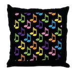 Cute Gift For Music Teacher Throw Pillow