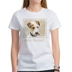 Parson Jack Russell Women's Classic White T-Shirt