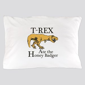 T REX Ate Pillow Case