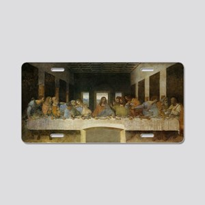 The Last Supper Aluminum License Plate