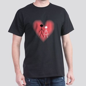 Interracial Love & Relationsh Black T-Shirt