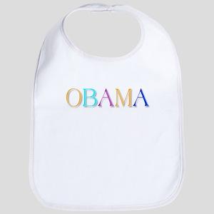 Obama colorful: Bib
