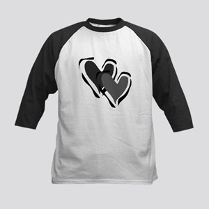 Interracial Love Kids Baseball Jersey