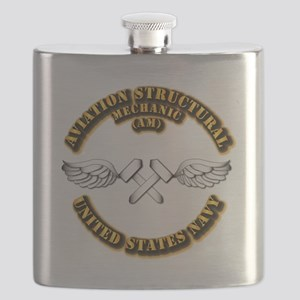 Navy - Rate - AM Flask