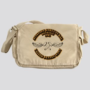 Navy - Rate - AM Messenger Bag