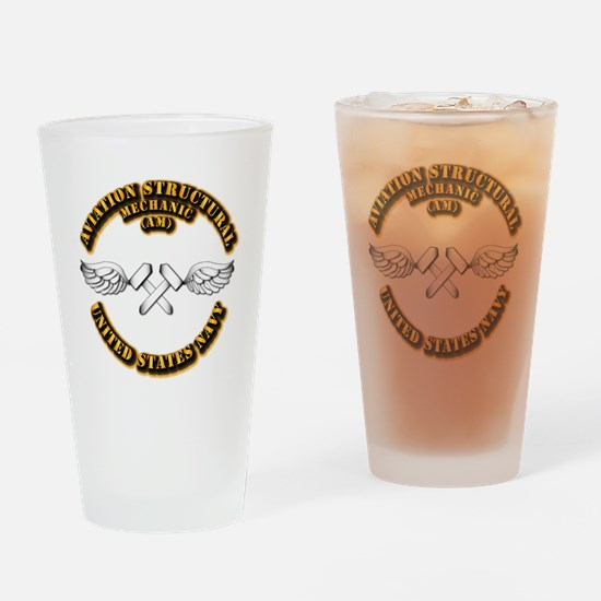 Navy - Rate - AM Drinking Glass