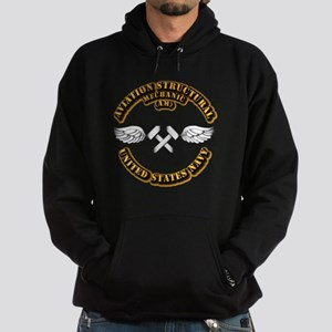 Navy - Rate - AM Hoodie (dark)
