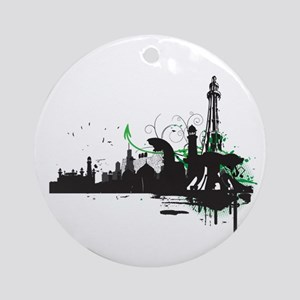 PCity Vectored Ornament (Round)