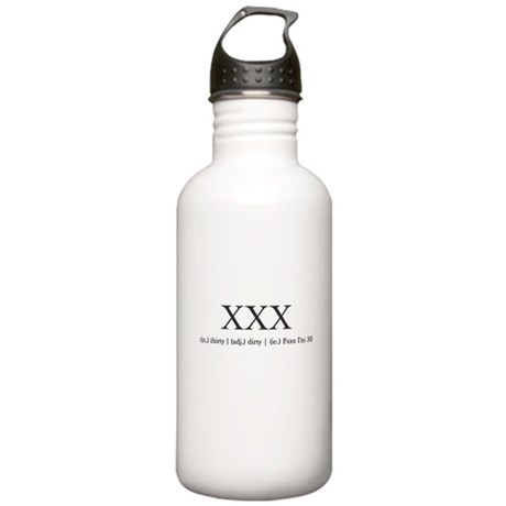 Dirty Thirty Stainless Water Bottle 1.0L
