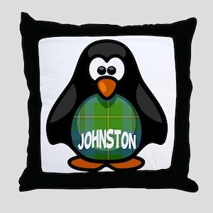 Johnston Tartan Penguin Throw Pillow