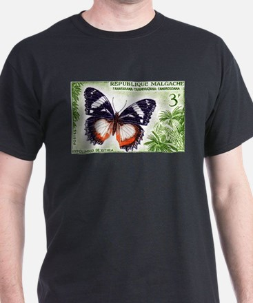 Madagascar Butterfly 3f Stamp 1960 T-Shirt