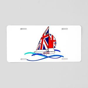 GBR British 470 Class Sailors Aluminum License Pla