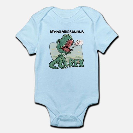 Personalizable T-Rex Infant Bodysuit