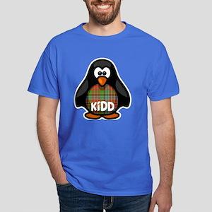 Kidd Tartan Penguin Dark T-Shirt