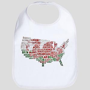 Welsh Place Names USA Map Bib