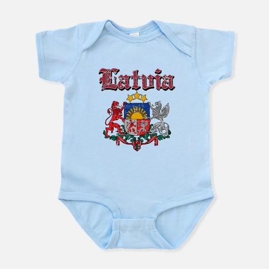 Latvia Coat of arms Infant Bodysuit
