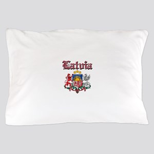Latvia Coat of arms Pillow Case