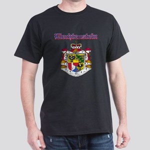 Liechtenstein Coat of arms Dark T-Shirt