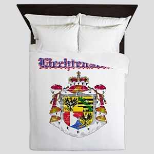 Liechtenstein Coat of arms Queen Duvet
