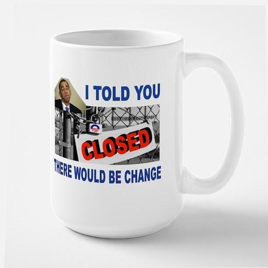 CLOSED FACTORY Large Mug