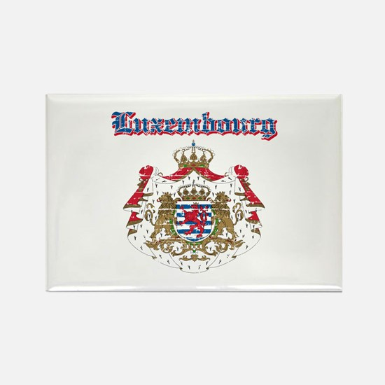 Luxembourg Coat of arms Rectangle Magnet