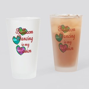 Ballroom Passion Drinking Glass