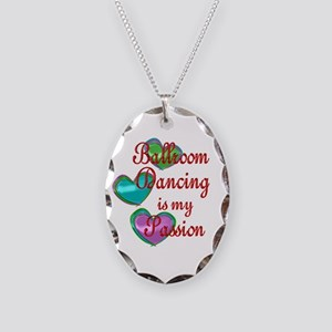 Ballroom Passion Necklace Oval Charm