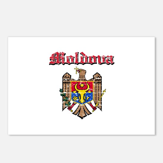 Moldova Coat of arms Postcards (Package of 8)