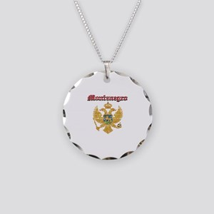 Montenegro Coat of arms Necklace Circle Charm