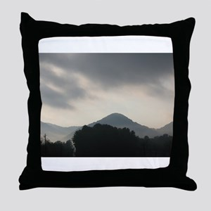 Smokey Mountain Throw Pillow