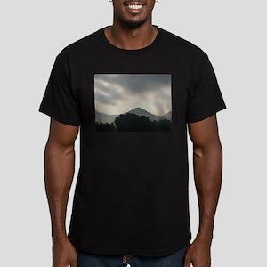 Smokey Mountain Men's Fitted T-Shirt (dark)