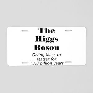 The Higgs Boson Aluminum License Plate