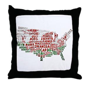 Wales Throw Pillows Cafepress