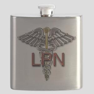LPN Medical Symbol Flask