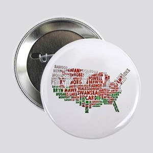 "Welsh Place Names USA Map 2.25"" Button"