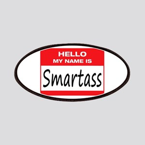 Smartass Name Tag Patches