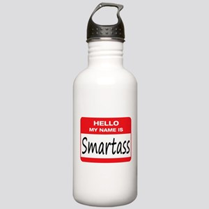Smartass Name Tag Stainless Water Bottle 1.0L