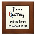 F Romney Framed Tile