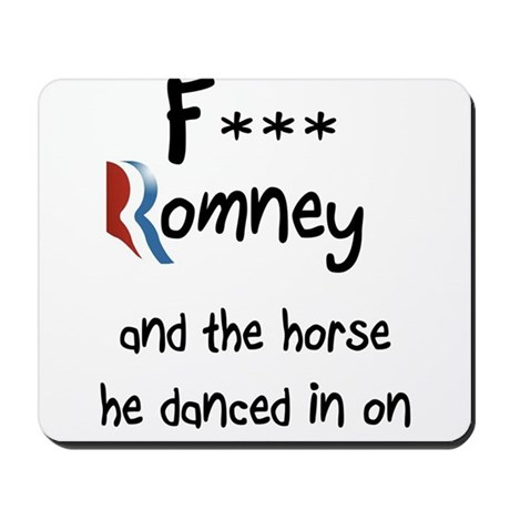 F Romney Mousepad