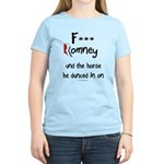 F Romney Women's Light T-Shirt