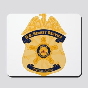 XXX Secret Service Badge Mousepad