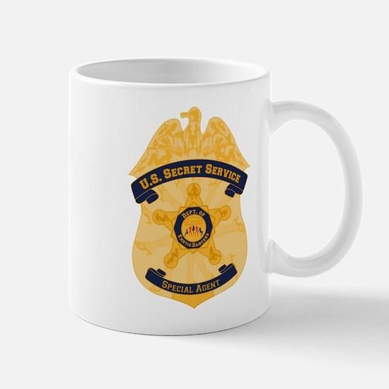 XXX Secret Service Badge Mug